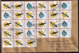 Argentina -  Lettre - Oiseaux D'Argentine - Cóndor - Pingouin - Tucan - Homero - Argentinien