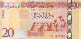 LIBYA 20 DINARS 2015 2016 P-83 UNC */* - Libya