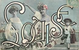 "/ CPA PRENOM ""Louise "" - Fancy Cards"