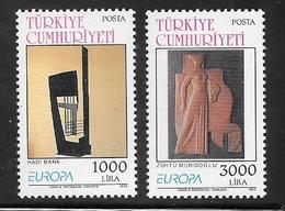 Turkey - 1993 Europa / CEPT - Contemporary Art - 2v MNH - 1921-... Republic
