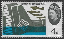 GB SG676 1965 25th Anniversary Of Battle Of Britain 4d Unmounted Mint [37/31086/25D] - 1952-.... (Elizabeth II)