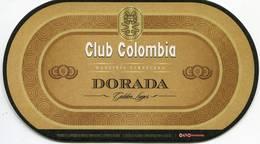 Lote 428, Colombia, Posavaso, Coaster, Club Colombia, Dorada, Larga - Beer Mats