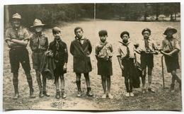 Photographie Privée Scoutisme Patrouille Scouts 1925 - Photographs