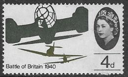 GB SG674 1965 25th Anniversary Of Battle Of Britain 4d Unmounted Mint [37/31088/25D] - 1952-.... (Elizabeth II)