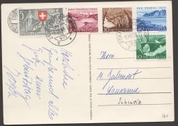 1953   Carte Postale Pro Patria 1953 Série Complète - Pro Patria