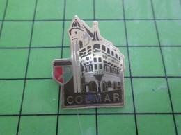 816c Pin's Pins / Rare Et Belle Qualité THEME : VILLES / COLMAR ALSACE BLASON ECUSSON ARMOIRIES - Cities