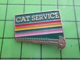 911D Pin's Pins / Rare Et Belle Qualité THEME : MARQUES / CAT SERVICE BRICOLAGE VIS - Trademarks