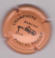 Capsule Champagne FRICOT Pascal ( Nr ; MARCIAC Orange Et Noir 2018 ) Nouvelle {S29-18} - Champagne