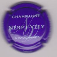Capsule Champagne NERET_VELY (  ; Violet Et Blanc ) {S29-18} - Champagne