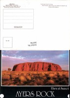 569796,Uluru Ayers Rock At Sunset Australien Australia - Ansichtskarten