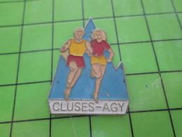 1615C Pin's Pins / Rare Et Belle Qualité THEME : VILLES / CLUSES - AGY - Cities