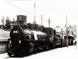 TRAIN YUGOSLAVIA  24cm X 18cm - Trains