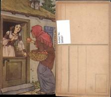 569567,Märchen Schneewittchen M. Hexe Apfel - Märchen, Sagen & Legenden