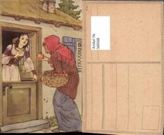 569568,Märchen Schneewittchen M. Hexe Apfel - Märchen, Sagen & Legenden