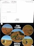 569804,Mehrbild Ak The Climb Ayers Rock Australia - Ansichtskarten