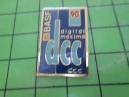 1615C Pin's Pins / Rare Et Belle Qualité THEME MARQUES / CASSETTE BASF 90 MIN DCC - Trademarks