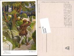 569349,Künstler AK F. Elßner Brüder Grimm Märchen Rübezahl - Märchen, Sagen & Legenden