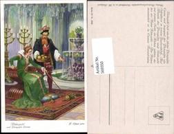 569350,Künstler AK F. Elßner Brüder Grimm Märchen Rübezahl Prinzessin Emma - Märchen, Sagen & Legenden