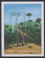 LSJP GABON PREHISTORIC ANIMALS MNH - Prehistorics