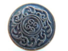 Knoop Bouton Dessin Oriental Bronskleur Couleur Bronze 2 Cm - Boutons