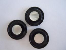 3 Knopen Boutons Bakeliet Bakelite Nacre 2 Cm - Knopen