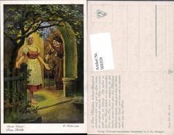 569359,Künstler AK O. Kubel Brüder Grimm Märchen Spindel Goldmarie - Märchen, Sagen & Legenden