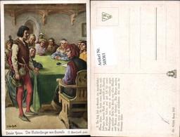 569361,Künstler AK O. Herrfurth Brüder Grimm Märchen Rattenfänger Von Hameln - Märchen, Sagen & Legenden