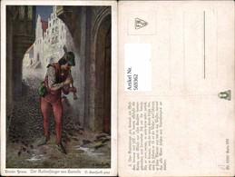 569362,Künstler AK O. Herrfurth Brüder Grimm Märchen Rattenfänger Von Hameln - Märchen, Sagen & Legenden