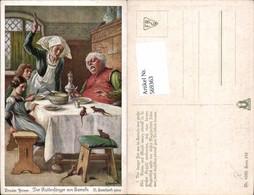 569363,Künstler AK O. Herrfurth Brüder Grimm Märchen Rattenfänger Von Hameln - Märchen, Sagen & Legenden