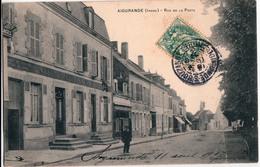 AIGURANDE-RUE DE LA POSTE - France