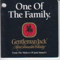 Gentleman Jack - Tennessee Whisky - Jack Daniels - Label Etiquette - Lynchburg - Pubblicitari