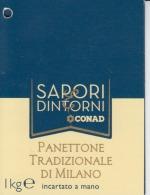 Italy Italia - Milano - Panettone Tradizionale Di Milano - Ticket / Label - Biglietti D'ingresso