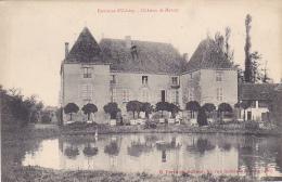 Environs Uchizy - Château De Mercey (commune De Monfbellet), Bassin, Orangers, Animation - Pas Circulé - France