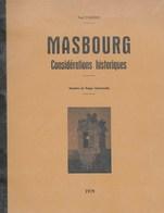 Masbourg. Considérations Historiques. Fief De Mirwart, Comte De Rochefort, Nassogne, Marche, Seigneurie, Armoiries.... - Belgium