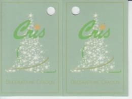 Christmas - Label Etiquette - Christmas Tree - Guarantee Ticket - Biglietti D'ingresso