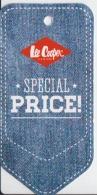 Fashion - Lee Cooper - Label Etiquette - Pubblicitari