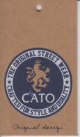 Fashion - CATO Fashion - Lalel Etiquette Lion - Pubblicitari