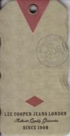 Fashion - Lee Cooper Label Etiquette - Jeans London - Pubblicitari