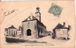 CHATELUS MALVALEIX-PLACE DE LA HALLE - Chatelus Malvaleix