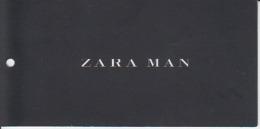 Fashion -  Zara Man - Label Etiquette - Pubblicitari