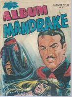 MANDRAKE Reliure  N° 42 ( N° 392 + 393 + Le FANTOME / PHANTOM N° 406 ) -   REMPARTS  1972 - Mandrake