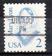 USA Precancel Vorausentwertung Preo, Locals Territories, PR Utuado 841 - Vorausentwertungen