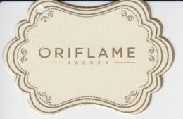 Fashion Mode - Oriflame Cosmetics - Sweden - Label Etiquette - Pubblicitari