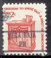USA Precancel Vorausentwertung Preo, Locals Territories, PR Vega Baja 892 - Vorausentwertungen