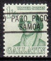 USA Precancel Vorausentwertung Preo, Locals Territories, Samoa Pago Pago 819 - Vereinigte Staaten
