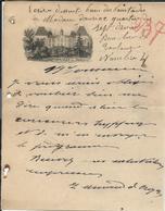 Papier - Armissan Par Narbonne Vers 1894 - Francia