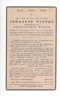 JOHANNES VREVEN ° KLEIN-GELMEN 1861 + 1940 - Santini