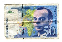 BILLET DE 50 FRANCS 1999 SAINT EXUPERY / - 1992-2000 Laatste Reeks