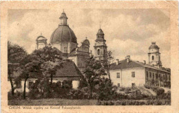 Chelm - Widok Ogolny Na Kosciol Pobazylianski * 14. 11. 1942 - Polen