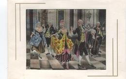 CARTE En SOIE TISSEE D'après A. PEREZ - Danse De Salon - - Dance